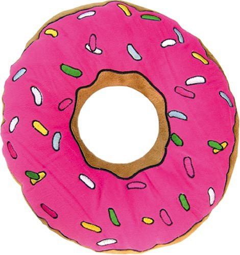United Labels 0804289 Los Simpson - Cojín con diseño de rosquilla (40 cm)https://amzn.to/2BRW5Q0