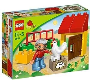 LEGO Duplo - El gallinero - 5644 + Duplo - El granjero y su cerdo - 5643