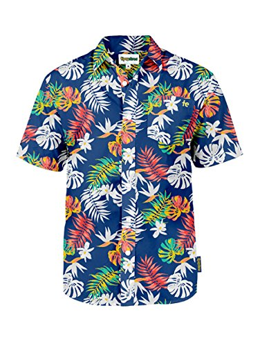 Tipsy Elves The Crush Captain Hawaiian Shirt: X-Large