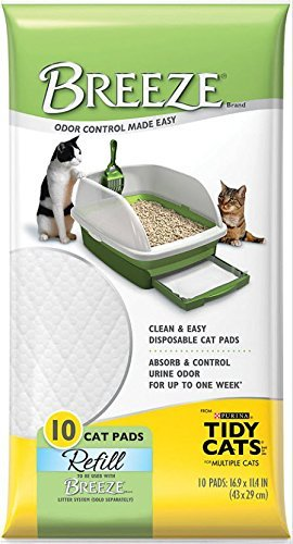 Tidy Cats Breeze Pads - Pack of 10 (Lounge Breeze)