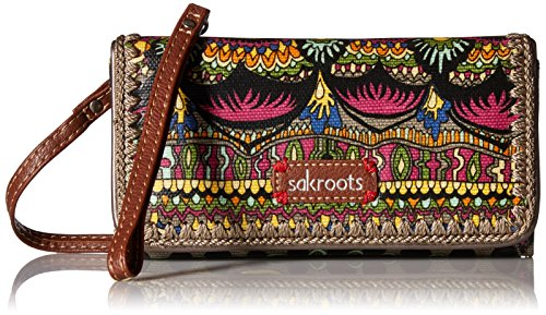 sakroots-artist-circle-tech-wallet-crossbody-charcoal-one-world