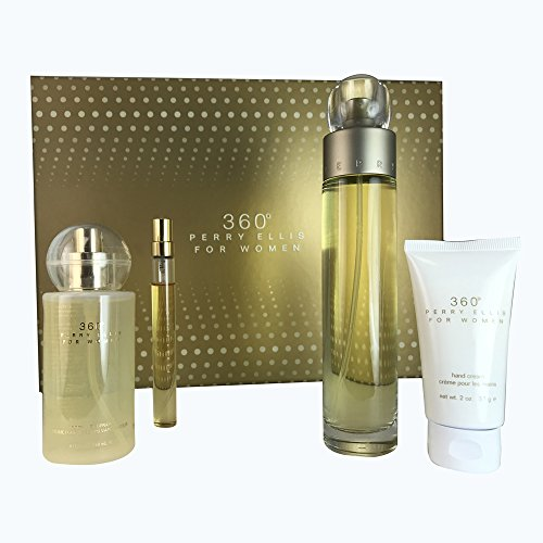 Perry Ellis Women's 360 Eau de Toilette 4-Piece Gift Set