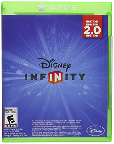 Storage Media Disney (Disney Infinity 2.0 (Marvel Super Heroes/Toy Box) Replacement Game Only - Xbox One)