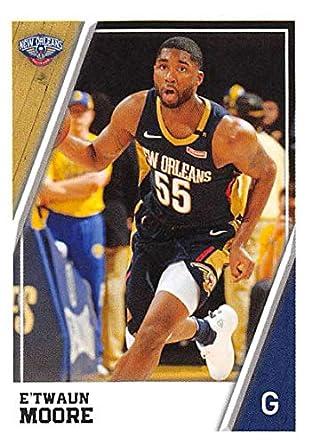 big sale 7dcca f693f Amazon.com: 2018-19 Panini NBA Stickers Collection #317 E ...