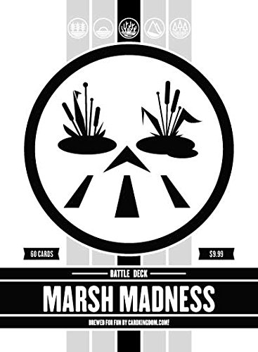 Marsh Madness Battle Deck. Magic the Gathering Preconstructed Deck. 60 cards. ()