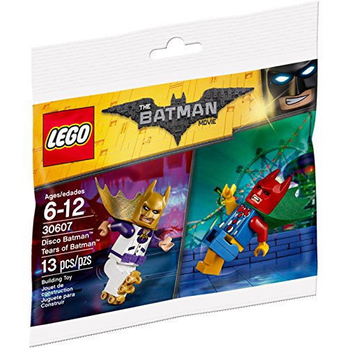 - LEGO - The Batman Movie - Disco Batman and Tears of Batman Exclusive Polybag (30607)