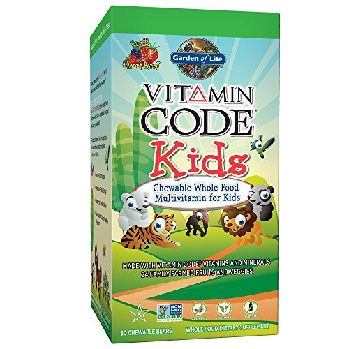 Garden of life vegetarian multivitamin supplement for kids - Garden of life vitamin code kids ...