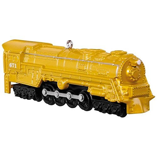 Hallmark LIONEL Trains 671 S-2 Turbine Steam Locomotive Keepsake Ornament by HMK