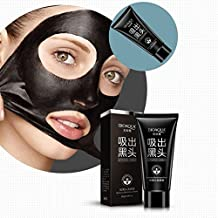 Facial Peel-off Strawberry Mask Nose Blackhead Remover - For Oil-control, Anti-aging, Acne Treatment - Deep Cleansing Black Mud Face Mask - Cool and Refreshing