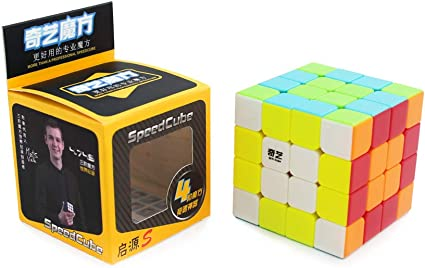 Cubelelo QiYi QiYuan 4x4 Stickerless Puzzle Rubiks Rubic 4x4 Cube