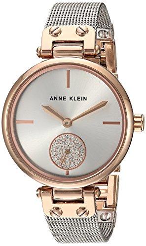 Anne Klein Women's Swarovski Crystal Accented Rose