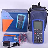 ET310A Digital Storage Oscilloscope Multimeter 10MHz Single Channel 50MS/s Sample Rate Oscilloscope Multimeter Professional Handheld LED Scopemeter Oscilloscope Multimeter A/D Automatic Waveform