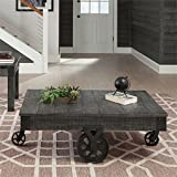 Cool Rustic Coffee Tables Coaster 720578-CO Coffee Table, Rustic Grey