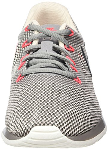 Nike Tanjun Racer, Scarpe da Ginnastica Basse Uomo Grigio (Dust/Black/Cobblestone/Solar Red)