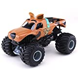 2017 Hot Wheels Monster Jam Scooby-Doo Character Truck Vehicle with Mystery Trading Cards + Bonus Stickers 25th Anniversary