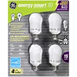 6-Pack GE 100 watt equiv CFL Compact Flourescent Light Bulbs