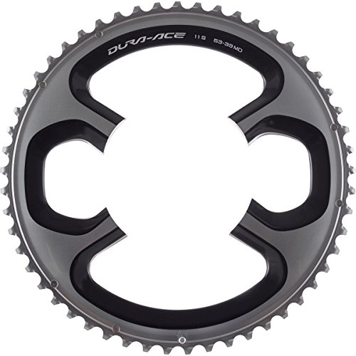 SHIMANO Dura-Ace 9000 Chainring Silver, 52t for 52/36 ()