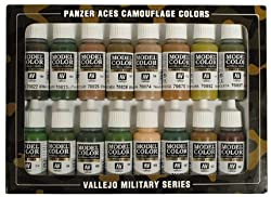 Vallejo Panzer Aces Paint Set by MMD Holdings, LLC