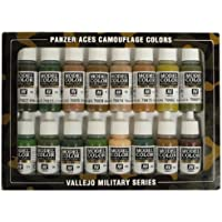 Vallejo Panzer Aces Paint Set