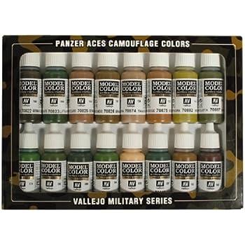 Vallejo Panzer Aces Paint Set