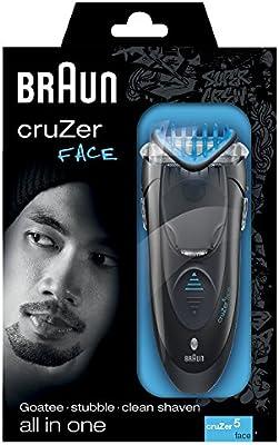 Braun cruZer5 Face Todo-en-uno - Afeitadora eléctrica, perfiladora ...