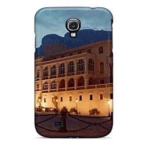 Tpu Case Cover For Galaxy S4 Strong Protect Case - Monaco Design
