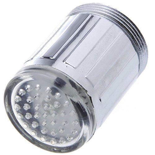 dizauL-Tete//Embout de robinet lumineux a Led D Sonde automatique temperature 3 Couleurs Sans pile De bonne qualite