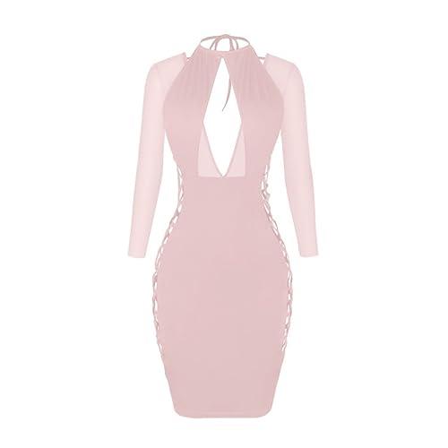 Retrograder Womens Sleeveless Evening Club Party Long Dress W003-4