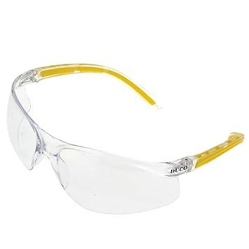dd55659cb2 Lunettes de sécurité Duco avec Verres antibrouillard Lunettes étanches  Protection UV400 (Jaune)