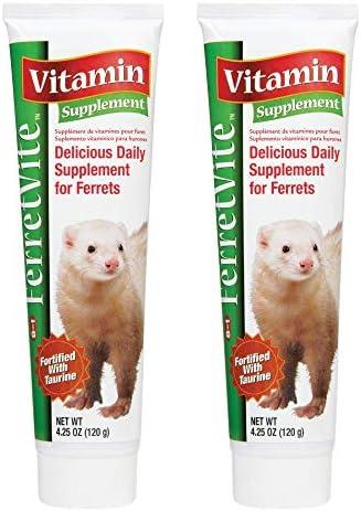 8 in 1 Ferretvite High Calorie Vitamin Supplement, 4.25 oz 2 Pack
