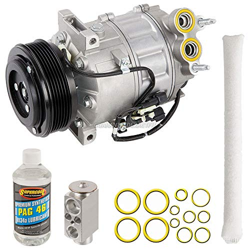 AC Compressor w/A/C Repair Kit For Volvo S80 V8 2007 2008 2009 2010 - BuyAutoParts 60-89875RK New ()