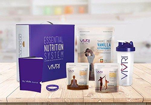 Vivri - Essential Nutrition System (ENS)- Vanilla Shake Me - Orange Mango 10 Day by Vivri