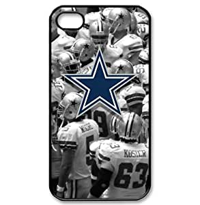 iPhone 4/4s PC Cases Cowboys logo label made of PC plastic