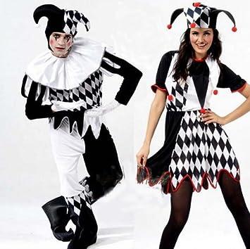 [No hay productos de marca] de Halloween traje de payaso comodin masculina / femenina
