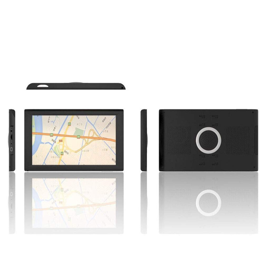 GPS Navigation, 256MB 8G CE System with Driving Alarm Portable Navigator Black Truck GPS 9 inches Car GPS by DaDaU.