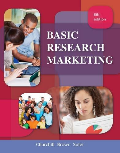 Basic Marketing Research (Book Only)
