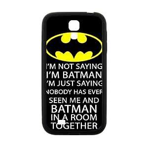 Cool painting Batman logo i'm batman Phone Case for Samsung Galaxy S4