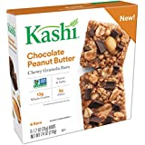 Kashi Chocolate Peanut Butter Chewy Granola Bar, 6 Count (Pack of 8)