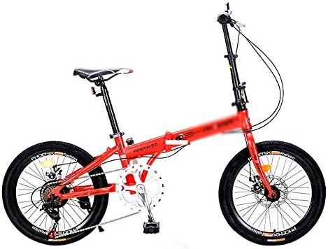 Paseo Bicicleta Bicicleta De La Bicicleta Plegable 20 Pulgadas 7 ...