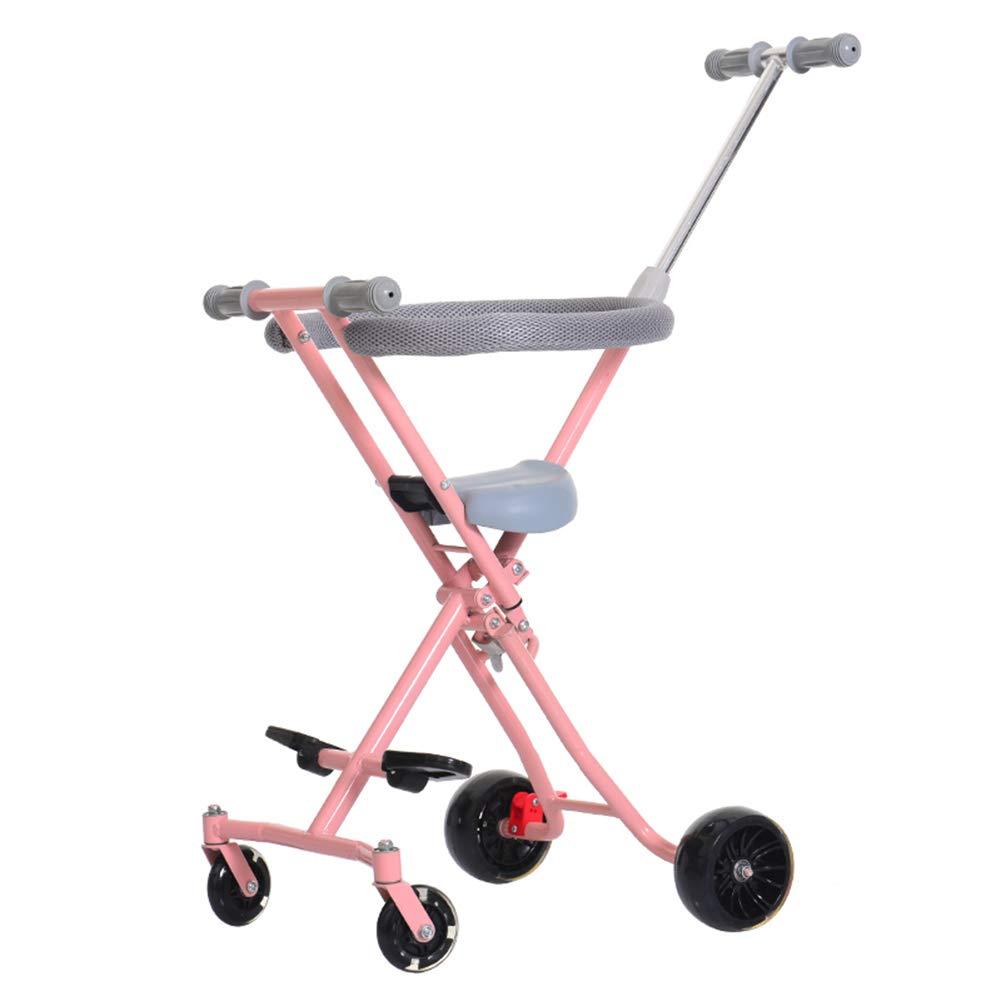 子供の赤ちゃん散歩アーティファクトユニセックスのアーティファクト、子供、トロリー、1-3 - 5歳、軽量折りたたみ   B07SH678HP