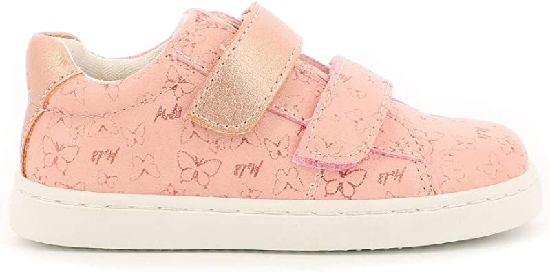 Oupapillon Trainers Boys Pink/Gold Low