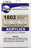 SCIGRIP Weld-On #1802 Adhesive, Gallon Thin Bodied, Moderately Fast Set,