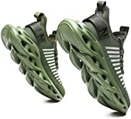 GSLMOLN Running Shoes for Mens Womens Athletic Slip on Sneakers Outdoor Walking Jogging Footwear