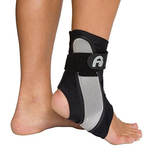 Aircast A60 Ankle Support Brace, Right Foot, Black, Small (Shoe Size: Men's 4 - 7 / Women's 5 - 8.5) - Buy Packs and SAVE (Pack of 3) Aircast A60 Ankle Support