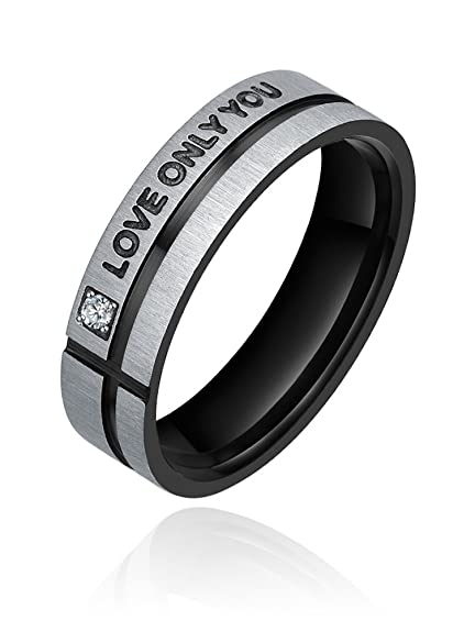 AI Stainless Steel Jewelry Hombre sin metal Anillo de hombre