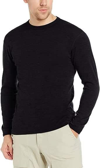 Minus33 Merino Wool 705 Chocorua Men's Midweight Crew - Anti Odor NO Itch Renewable Fabric