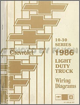 [DIAGRAM_5UK]  1986 Chevrolet CK Wiring Diagram Original Pickup Suburban Blazer: Chevrolet:  Amazon.com: Books | 1986 Chevy Truck Wiring Schematics |  | Amazon.com
