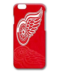 custom and diy for iphone 6 3D NHL Detroit Red Wings red background by jamescurryshop