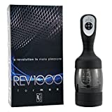 REV1000 Rechargeable Hand-Free Cyclone Male Masturbator [FBA]