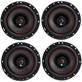 MB Quart X-Line 6.5 Inch Coaxial Car Audio Speakers Bundle - Two Pairs of XK1-116 Speakers